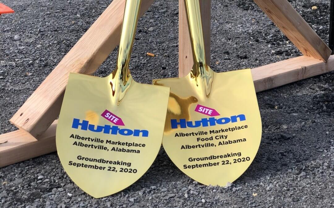 HUTTON Breaks Ground on Albertville Marketplace