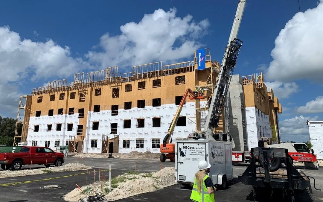 HUTTON Tops Out Rockledge Flats